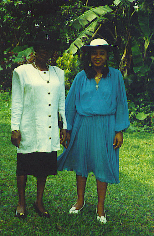 Mother & Daughter, Mrs Ndoko & Mama Annie