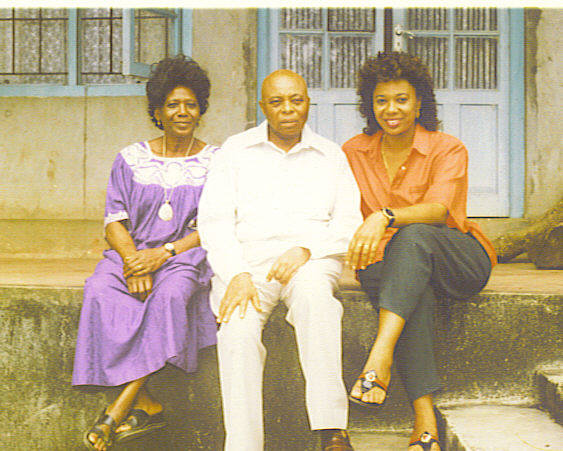 Mom, Dad & Mama Annie Ndoko